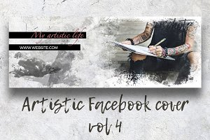 Artistic Facebook Cover vol. 4