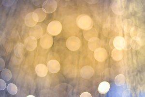 LED light on Christmas tree
