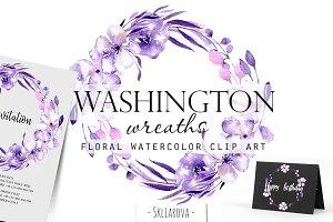 """Washington"". Wreaths."
