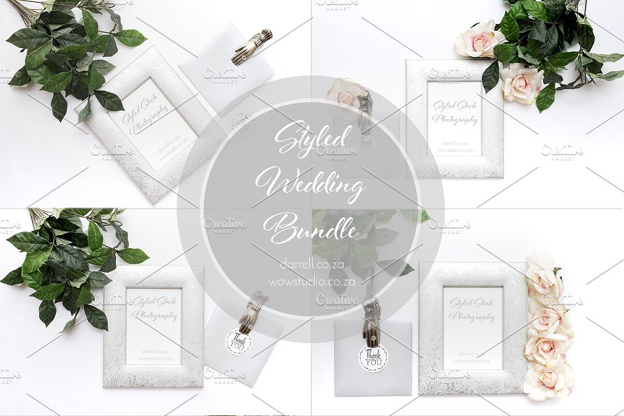 Wedding Styled Bundle-Graphicriver中文最全的素材分享平台