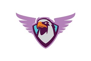 Eagle head logotype