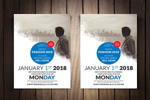 Fashion Festival Flyer