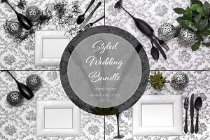 Wedding Styled Black & White Bundle