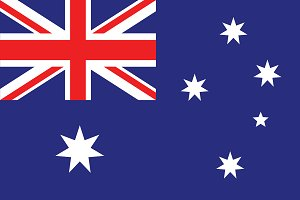 Vector of Australian flag.