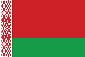 Vector of Belarus flag.