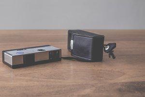 Vintage pocket camera
