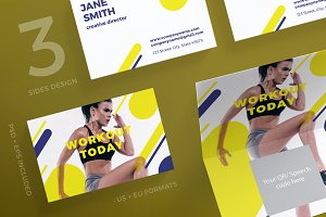 Business Cards | Workout