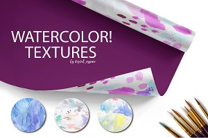 Watercolor textures kit