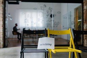 Advertising for new jobs