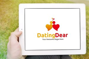 Dating Dear Logo Template