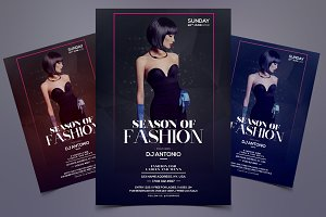 Season of Fashion - PSD Flyer