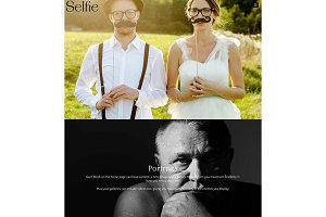 Selfie - Photography WordPress Theme