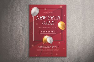 New Year Sale Flyer Vol. 01