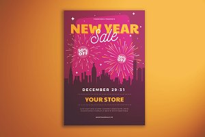 New Year Sale Flyer Vol. 02