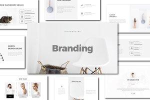 Branding Minimal Keynote Template