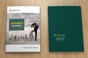 InDesign Corporate Brochure- V89