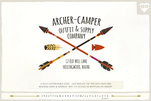 Archer-Camper: Arrow Logo