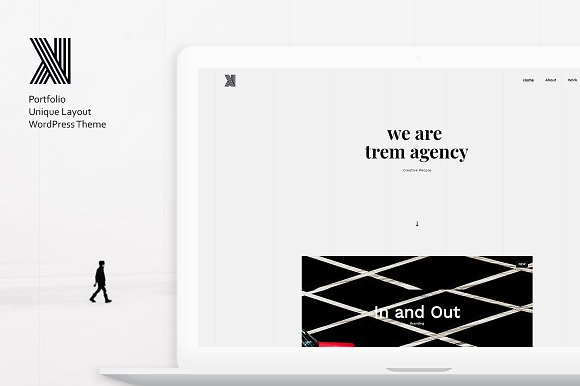 Trem - Creative Portfolio WP Theme