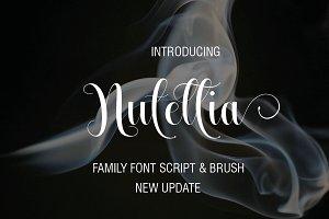 Nutellia Family Font Script & Brush