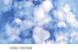 Clouds in the sky. Timelapse