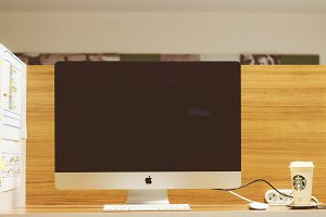 iMac in office