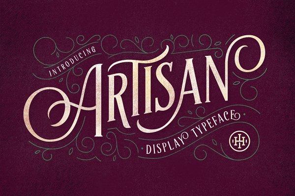 Artisan Display Typeface