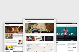 Pneuma - Church WordPress Theme