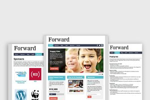 Forward - Nonprofit WordPress Themes