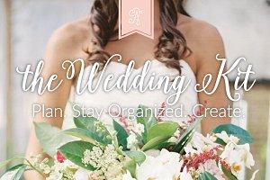 Printable Wedding Planning Kit