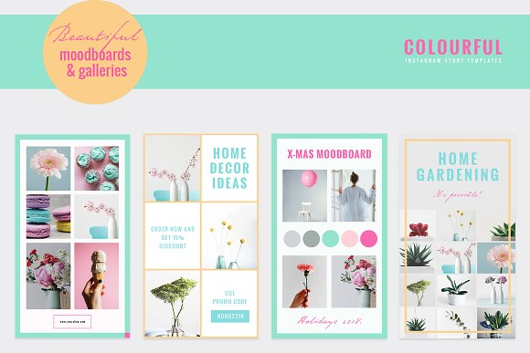 COLORFUL Instagram Stories in Instagram Templates - product preview 7