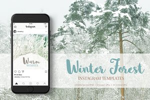 Instagram Winter Pack