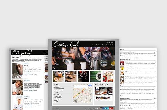 Bottega Restaurant WordPress Theme