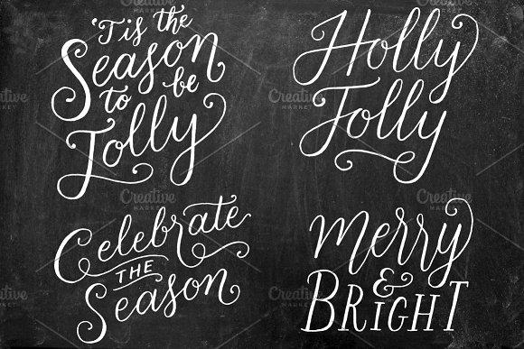 Christmas Holiday Overlays Vol 1