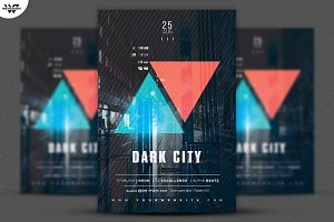 DARK CITY Flyer Template