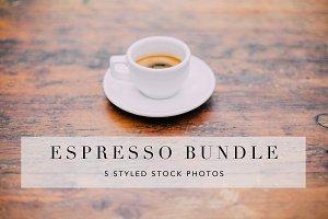 Espresso Stock Photo Bundle