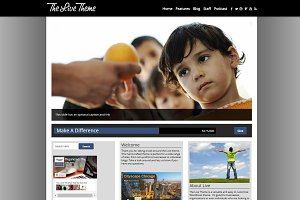 Live - Business/Nonprofit WP Theme
