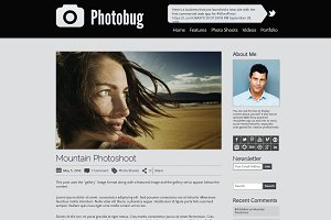 Photobug - Photography WP Theme