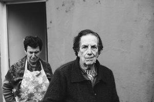 Two elderly woman