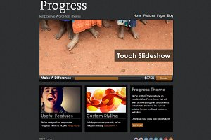 Progress - Nonprofit WordPress Theme