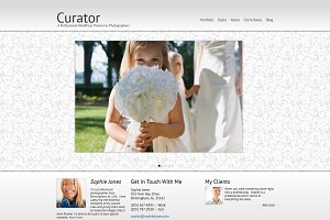 Curator Photography WordPress Theme