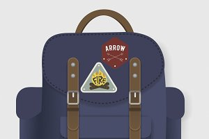 Bag Travel Journey Graphic vector