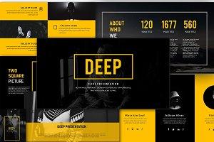 Deep Creative Presentation Keynote