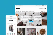 Latest - eCommerce + Magazine Theme by  in Commerce