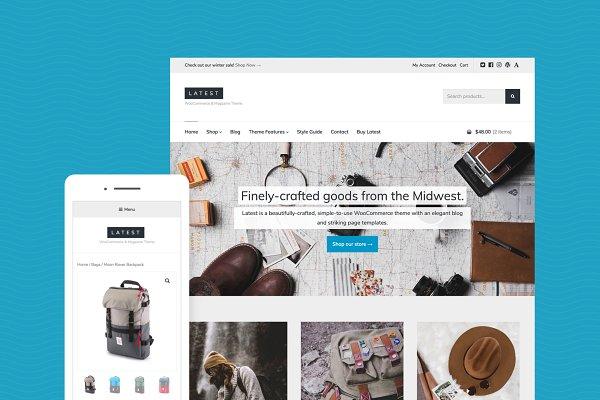 WordPress eCommerce Themes: Array Themes - Latest - eCommerce + Magazine Theme