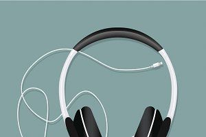 Headphone entertainment audio vector