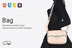 Bag - eCommerce Html Template