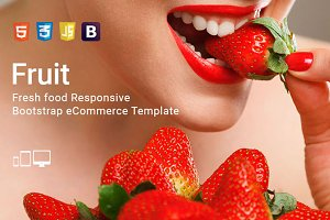 Fruit - Bootstrap eCommerce Template