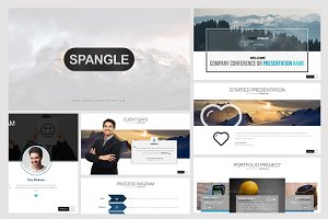 Spangle Powerpoint Template