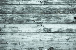 Pale blue  timber boards wooden