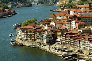 Cityscape of Old Town Porto